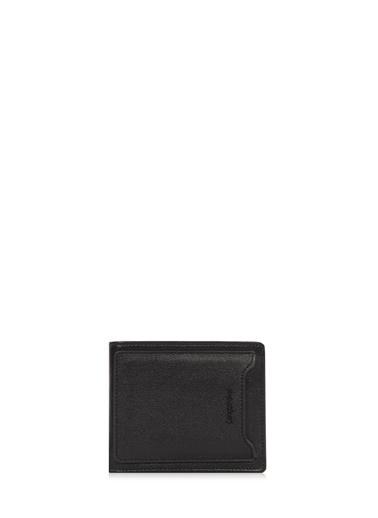 Cengiz Pakel Hakiki Deri Erkek Cüzdan 27506-Siyah-Saks Renkli